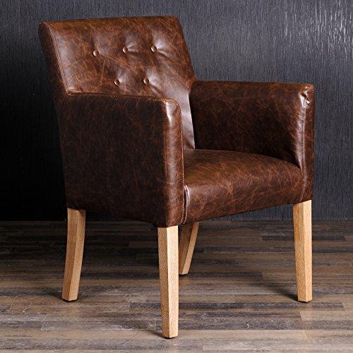 armlehnstuhl esszimmerstuhl textil lederstuhl vintage. Black Bedroom Furniture Sets. Home Design Ideas