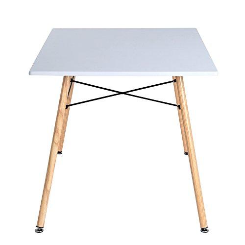 aingoo retro wei eiffel tisch eames tisch esstisch esszimmertisch k chentisch wohnzimmertisch. Black Bedroom Furniture Sets. Home Design Ideas