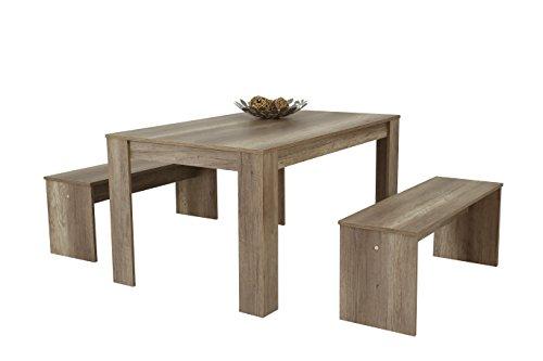 apollo 022401 essgruppe petra i vierfu tisch mit 2. Black Bedroom Furniture Sets. Home Design Ideas