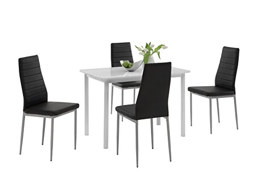 apollo 810599 essgruppe anke rechteckiger tisch und 4 er. Black Bedroom Furniture Sets. Home Design Ideas