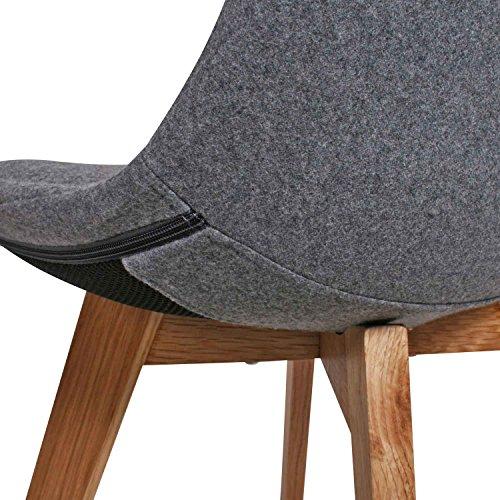 Butik moderner design esszimmerstuhl consilium valido in for Barhocker filz