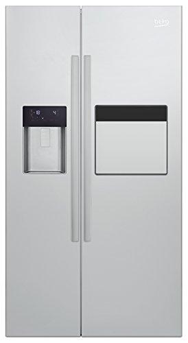 Beko GN 162430 X Side-by-Side / A++ / 182 cm Höhe / 370 kWh/Jahr / 368 Liter Kühlteil / 176 Liter Gefrierteil / Edelstahl Fingerprint Free