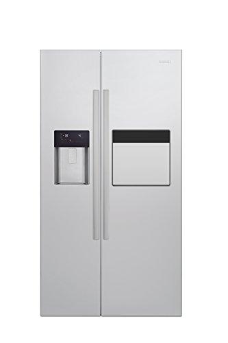 Beko GN 162530 X Side-by-Side / A++ / 182 cm Höhe / 370 kWh/Jahr / 368 Liter Kühlteil / 176 Liter Gefrierteil / Edelstahl Fingerprint Free