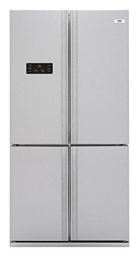 Beko GNE 114631 X Side-by-Side / A++ / 182 cm Höhe / 357 kWh/Jahr / 385 Liter Kühlteil / 155 Liter Gefrierteil / Edelstahl Fingerprint Free