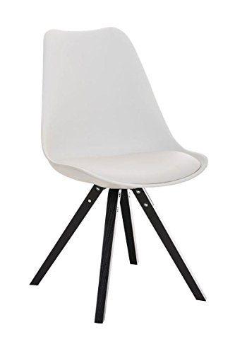 4er set esszimmerstuhl inspiration leder pu weiss buche for Dunord design stuhl verona