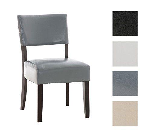 Clp esszimmer stuhl solley holzz gestell bezug for Kunstleder stuhl grau