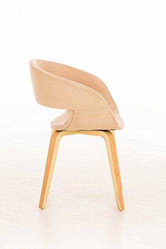 clp moderner besucher stuhl pano mit armlehne gut gepolsterter sitzfl che und holzgestell mit. Black Bedroom Furniture Sets. Home Design Ideas