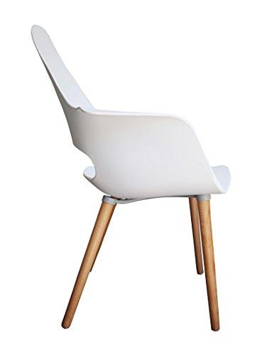 designer stuhl enzo esszimmerstuhl wohnzimmerstuhl loungestuhl k chenstuhl 221730 wei. Black Bedroom Furniture Sets. Home Design Ideas