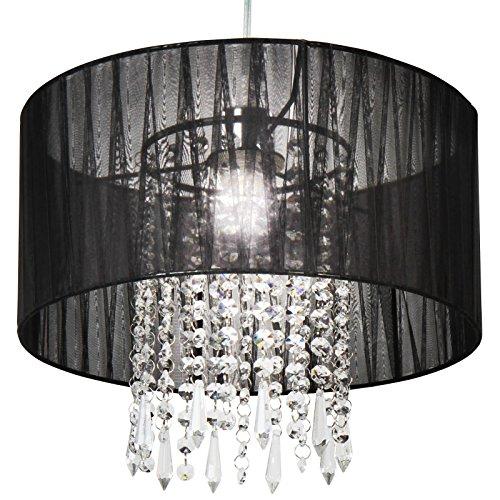 Deckenleuchte Deckenlampe Design Lampe Leuchte und Kristalldesign max. 60 W