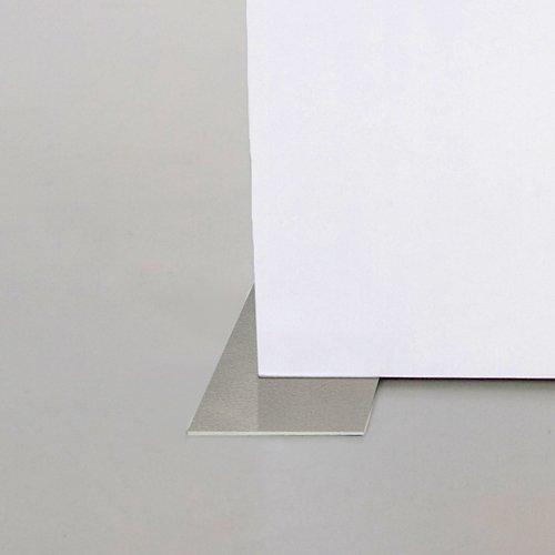 Esstisch BIG, Holz, weiß, Hochglanz, Metallfüße, 180/230cm