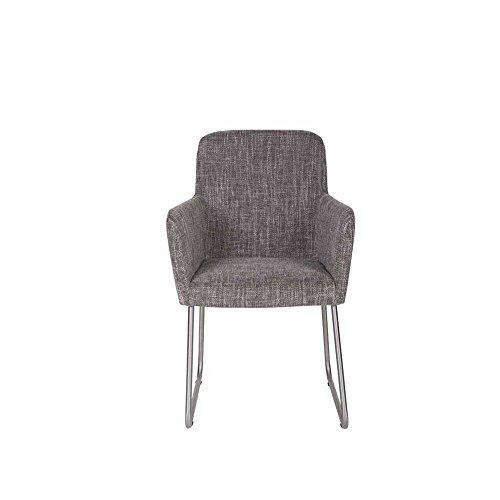 esstischsessel in grau stoff pharao24 0 m bel24. Black Bedroom Furniture Sets. Home Design Ideas