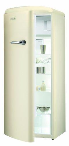 Gorenje RB 60299 OC-L Kühlschrank / A++ / 154 cm Höhe / 196 kWh/Jahr / 255 L Kühlteil / 26 L Gefrierteil / Umluft-Kühlsystem mit QuickCooling-Funktion / 4 Glasabstellflächen / creme