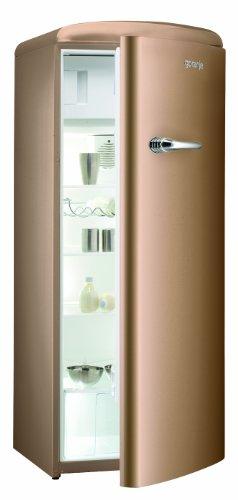 Gorenje RB60299OCO Kühlschrank / A++ / 196 kWh/Jahr / Kühlteil: 255 L / Gefrierteil: 26 L / royal coffee / Umluft-Kühlsystem mit Quick Cooling Funktion / Türanschlag rechts / Eco Top Ten