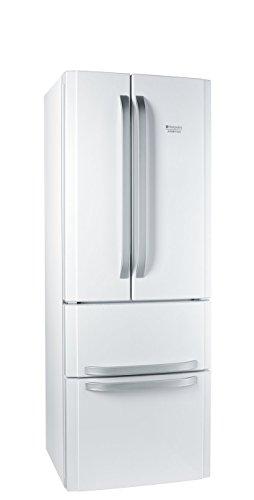 Hotpoint E4D AA W C Quadrio Side by Side / A+ / 393 kWh/Jahr / 292 L Kühlteil / 110 L Gefrierteil / No Frost System / wieß