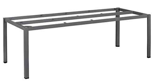 KETTLER Advantage Esstische Cubic-Tischgestell 220 x 95 cm, schwarz