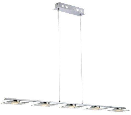 LED-Pendelleuchte 5-flammig