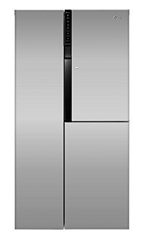 LG Electronics GS 9366 PZQZM Side-by-Side Kühl-Gefrier-Kombination (A++, 179 cm Höhe, 396 kWh/Jahr, 406 L Kühlteil, 220 L Gefrierteil, Linear Kompressor, Total No Frost Nie wieder abtauen)