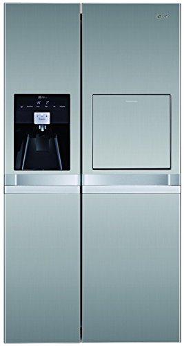 LG GSP 545 PVYZ8 Side by Side / A++ / 175,6 cm Höhe / Kühlen: 362 L / Gefrieren: 175 L / No-Frost / Digitales Touch-Display / steel