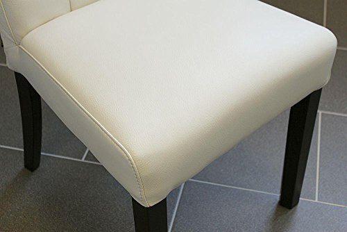lederstuhl stuhl bella rindsleder weiss six leder stuhl esszimmerstuhl st hle. Black Bedroom Furniture Sets. Home Design Ideas