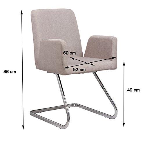 Lounge stuhl freischwinger beatrice mit armlehnen kchenstuhl viele farben retro look - Stuhl mit namen ...