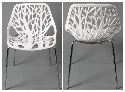 Mojo stuhl retro design kult plastikstuhl stapelbar s09 for Plastikstuhl design