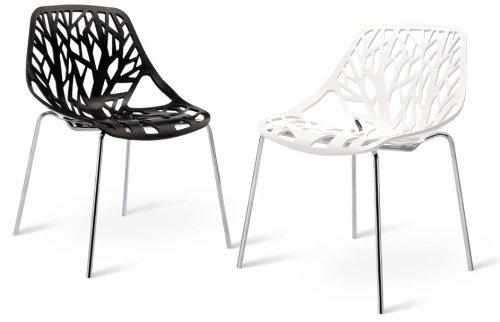 Mojo stuhl retro design kult plastikstuhl stapelbar s09 for Design plastikstuhl