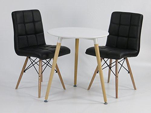 Mdf Inspiration Retro Esszimmer Tisch Durchmesser 60 cm rund