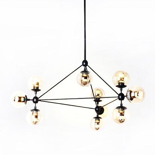 Ouku Pendant Lights , 10 Light , Simple Modern Artistic MS-86526 Zeitgenössisch Pendelleuchten