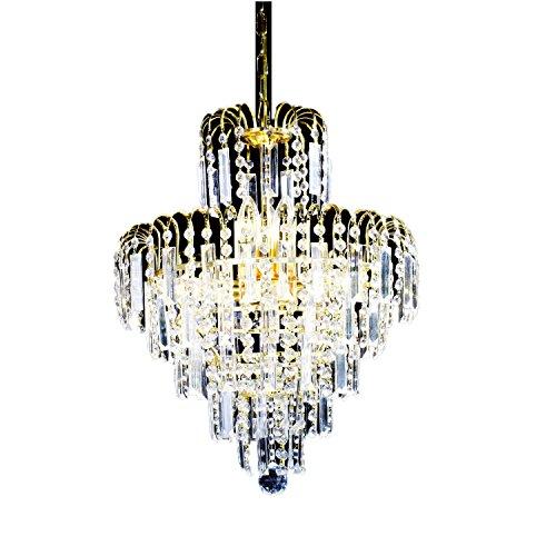 Ouku european-Stil Luxus-Kronleuchter mit 6 Leuchten in Kronenform