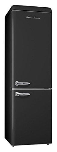 PKM SL300B CB Kühl-Gefrier-Kombination / A++ / 189.9 cm Höhe / 208.05 kWh/Jahr / 209 L Kühlteil / 91 L Gefrierteil / automatische Abtauung im Kühlteil / schwarz