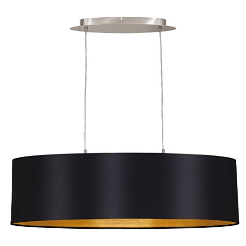 relaxdays industrie deckenlampe deckenleuchte schwarz fabrik lampe industrielampe im vintage. Black Bedroom Furniture Sets. Home Design Ideas