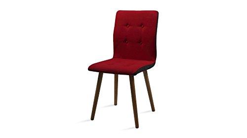 retro esszimmerstuhl polsterstuhl lehnenstuhl armlehne design armsessel esszimmerstuhl. Black Bedroom Furniture Sets. Home Design Ideas