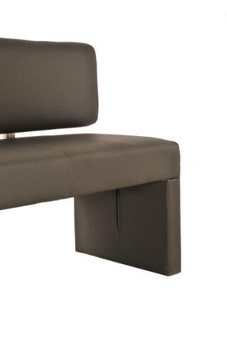 SAM® Esszimmer Einzel Sitzbank muddy 200 cm SINA komfortabel robust widerstandfähig schlicht elegant Lieferung erfolgt über Spedition teilzerlegt