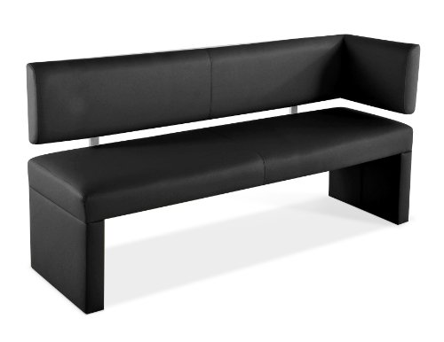 SAM® Esszimmer Ottomane Lasofia in schwarz 150 cm