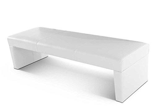 SAM® Esszimmer Sitzbank Mali in weiß Bank 200 cm schlicht pflegeleichte Oberfläche angenehmer Sitzkomfort Lieferung teilzerlegt per Paketdienst