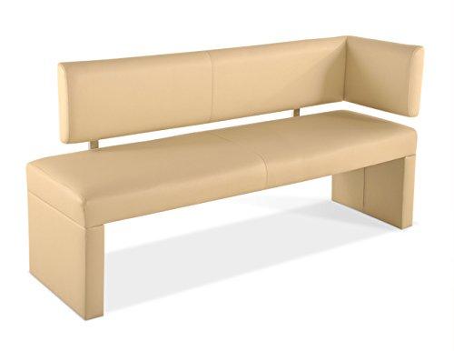 sam sitzbank sandra ottomane 150 cm creme robust pflegeleicht exklusiv lieferung erfolgt ber. Black Bedroom Furniture Sets. Home Design Ideas
