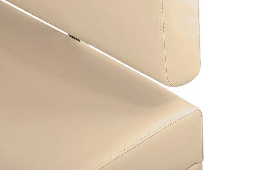 SAM® Sitzbank Sandra in creme 200 cm Sitzbank komplett bezogen