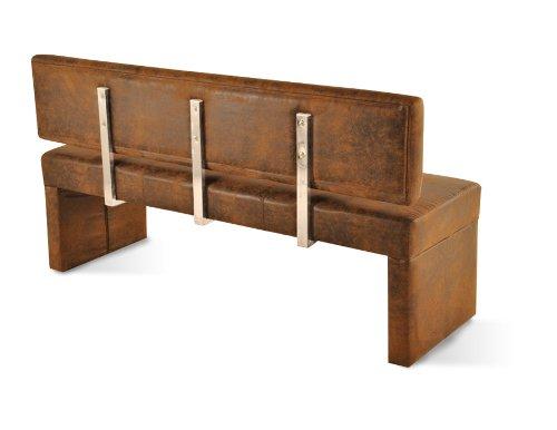 sam sitzbank scarlett in wildlederoptik 180 cm esszimmerst hle. Black Bedroom Furniture Sets. Home Design Ideas