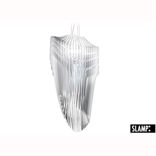 SLAMP Kronleuchter Avia Small, Weiß, Kunststoff, AVI84SOS0001W_000