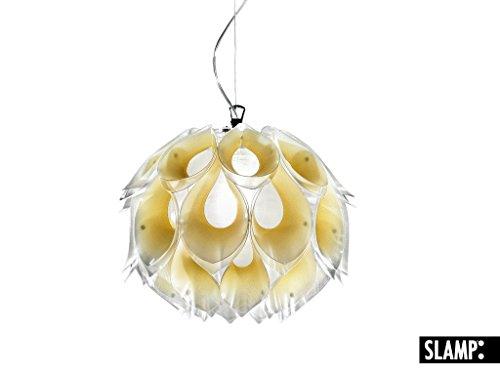 SLAMP Pendelleuchte Flora Medium, Gelb, Kunststoff, FLO85SOS0002G_000
