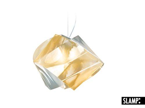 SLAMP Pendelleuchte Gemmy, Gold, Kunststoff, GEM04SOS0000LCY