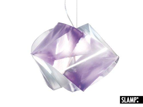 SLAMP Pendelleuchte Gemmy, Violett, Kunststoff, GEM04SOS0000LCP
