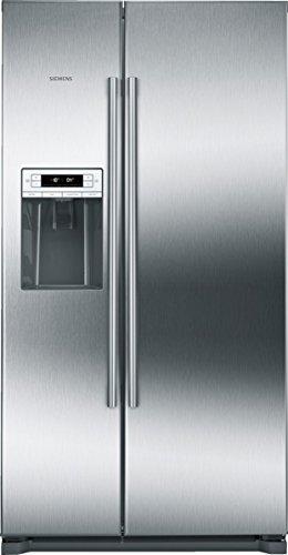 Siemens KA90DAI30 Side-by-Side / A++ / 177,00 cm Höhe / 339 kWh/Jahr / l Kühlteil / 228l Gefrierteil / No Frost / LED-Beleuchtung / edelstahl