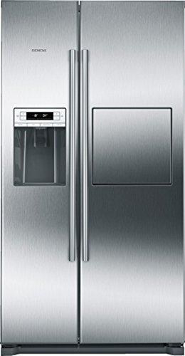 Siemens KA90GAI20 Side-by-Side / A+ / 177 cm Höhe / 432 kWh / 359 Liter Kühlteil / 163 Liter Gefrierteil / no-Frost-Technik gegen Eis- und Reifbildung / grau