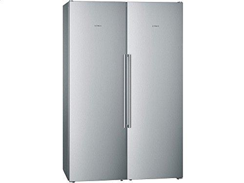Siemens KA99NAI35 Side-by-Side / A++ / 186 cm Höhe / 309 kWh/Jahr / 346 Liter Kühlteil / 237 Liter Gefrierteil / Die noFrost-Technik gegen Eis- und Reifbildung, damit Sie nie mehr abtauen müssen