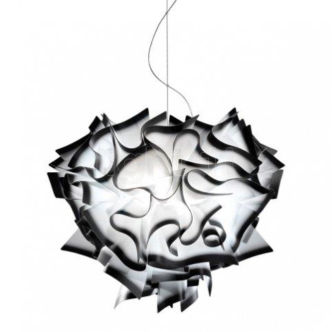 Slamp Veli Pendelleuchte grau, höhe 190 cm