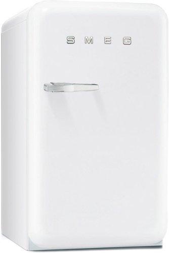 Smeg FAB10HRB Stand Flaschenkühlschrank Weiß Getränketräger freistehend A+ Retro
