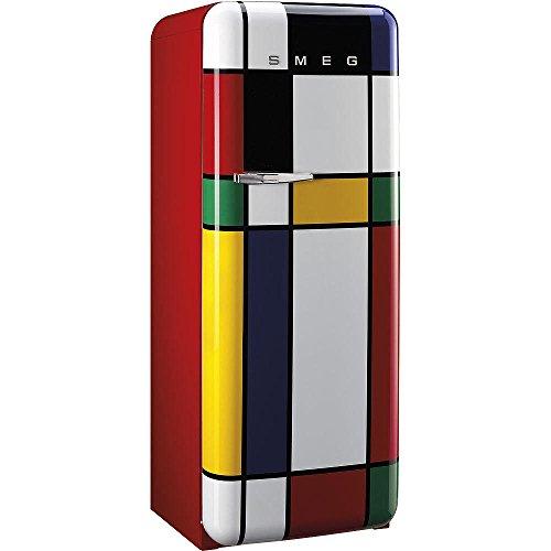 Smeg FAB28RDMC Standkühlschrank / A++ / 248 L / MULTICOLOR / mit integriertem Gefrierteil / Rechtsanschlag [Energieklasse A++]