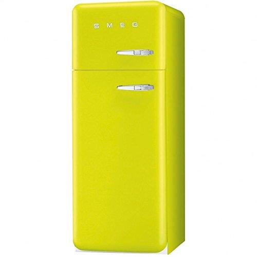 Smeg FAB30LVE1 Stand Kühlkombi Kühlschrank Grün Apfelgrün Tiefkühlfach Retro A++