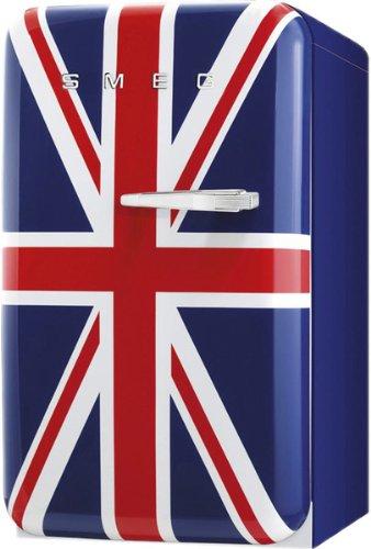 Smeg FAB5LUJ Standgerät Kühlgerät Union Jack Retro Flaschenkühlschrank Minibar